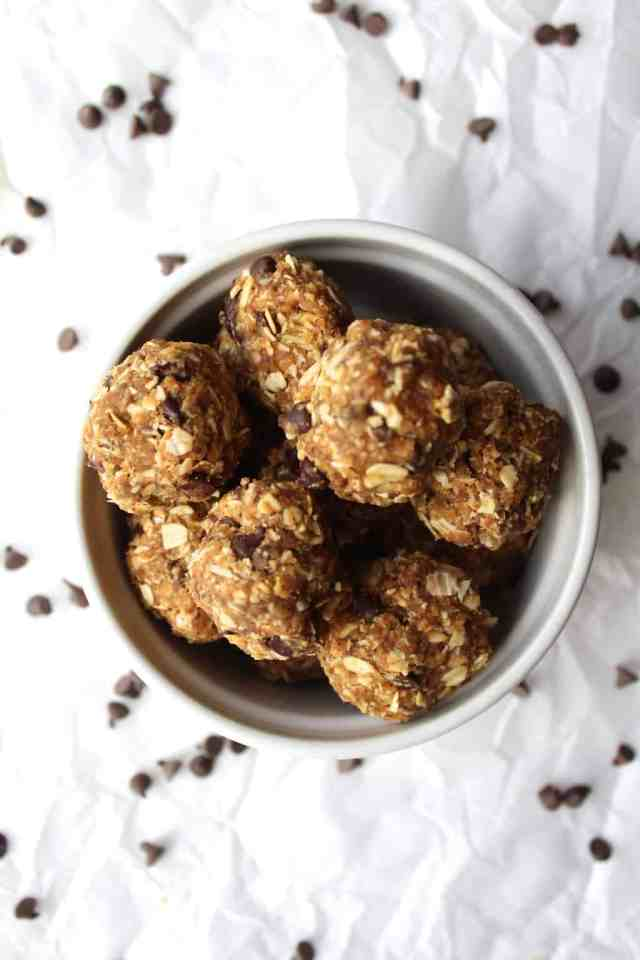 6 Ingredient No Bake Energy Balls