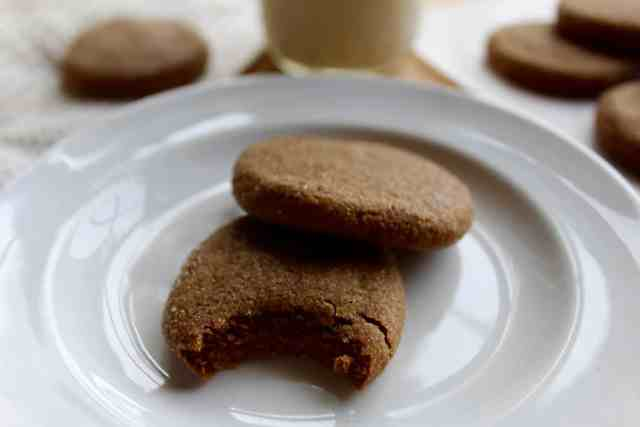 Soft Coconut Oil Molasses Cookies // pumpkin & peanut butter