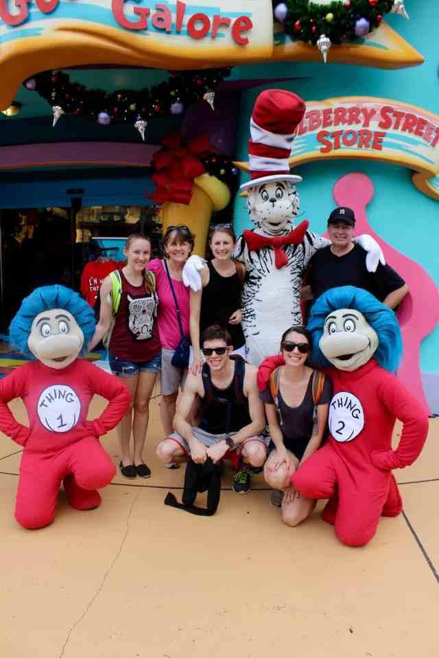 Vegetarian Travel: Universal Studios, Orlando // pumpkin & peanut butter