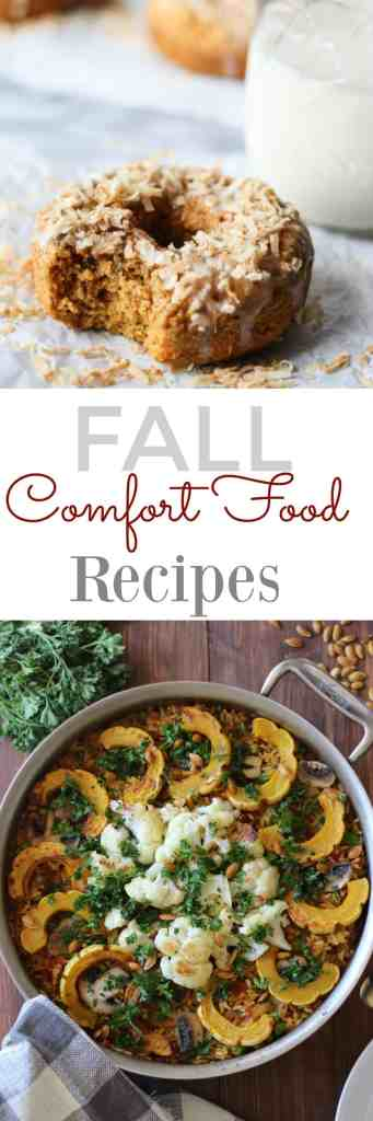 Fall Comfort Foods Recipes // pumpkinandpeanutbutter.com