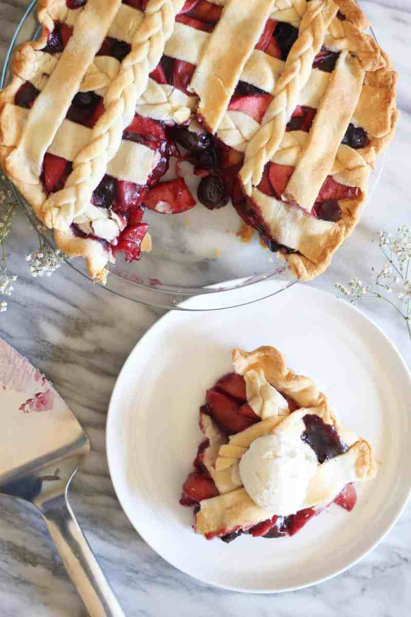 Apple Cherry Pie