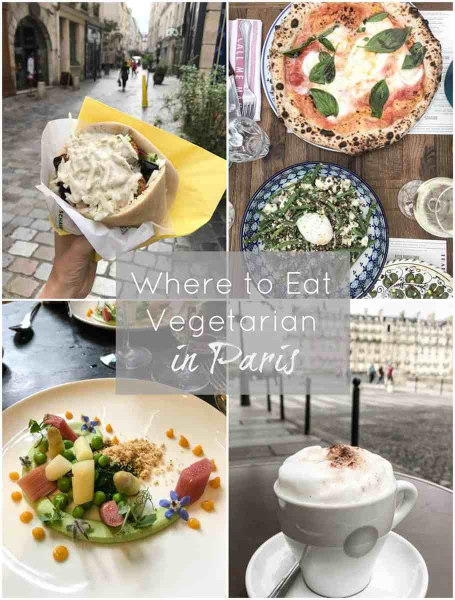 Where to Eat Vegetarian in Paris