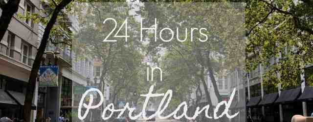 24 Hours in Portland | pumpkin & peanut butter