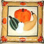 PPP010-EIN Pumpkin Patch Pillow