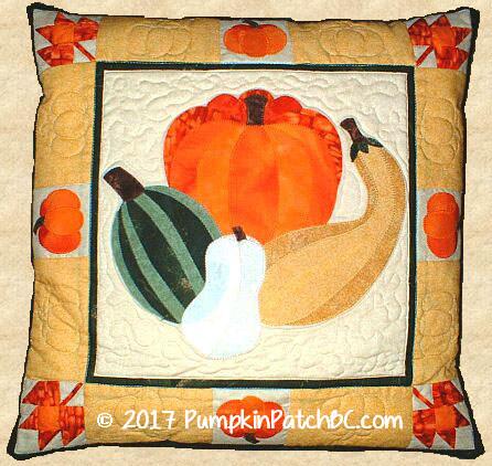 PPP010-EIN Pumpkin Patch Pillow
