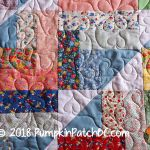 30s Jelly Roll Quilt Detail 2