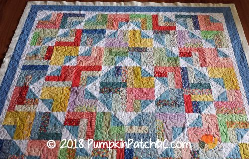 30s Jelly Roll Quilt