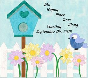 My Happy Place Row Along 2018 Logo