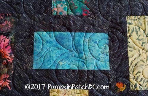 Blue Roses Detail 2