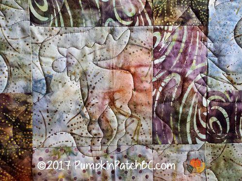 Deer in the Woods Detail 2