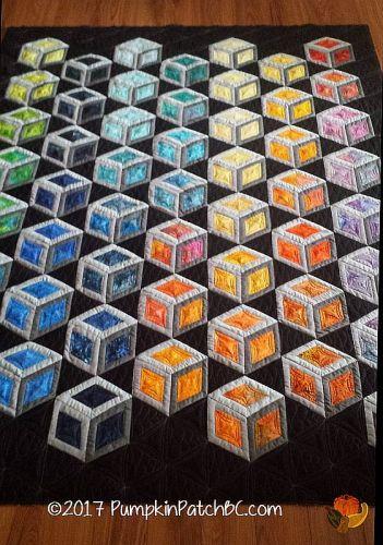 Tumbling Rainbow Blocks