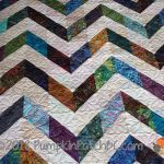 Chevron Quilt Detail 1