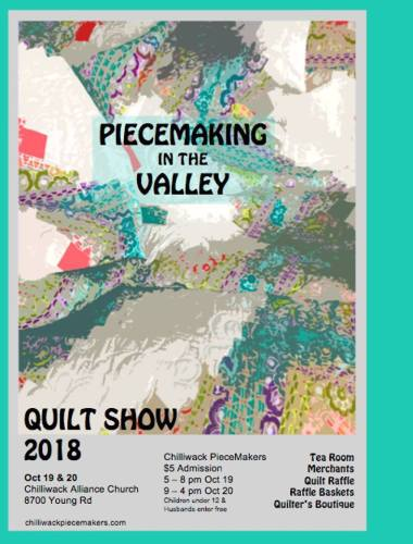 Piecemaking in the Valley 2018