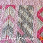 Princess Charlotte's Pink Daisies Detail 2