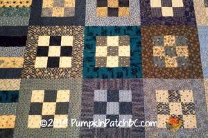 Blue Nine Patch Detail 2