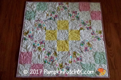 We Care Flannel Quilt 1