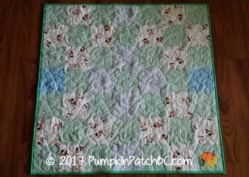 We Care Flannel Quilt 2