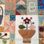 Sopwell Ladies Basket Society Quilt Detail 2