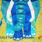 Elephant Abstractions Detail 2