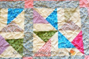 Pretty Pinwheels Detail 2