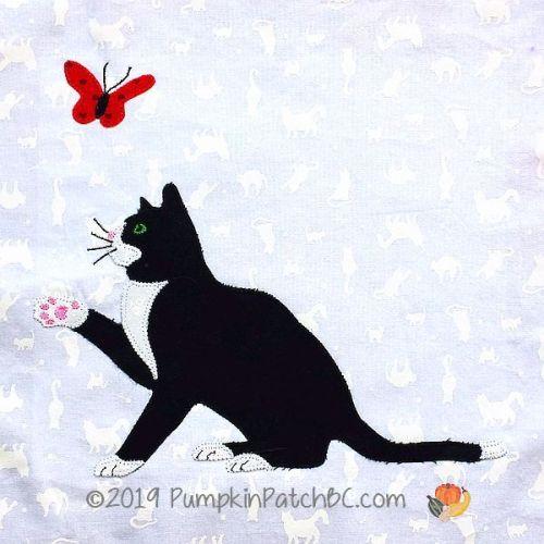 Tuxedo Cat Block #12