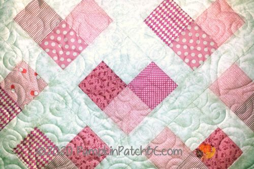 Pink Hearts Detail 2