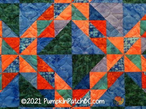 Pinwheel Puzzle Detail 2