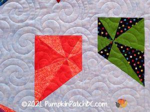 Colorful Kites Detail 2