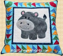 PPP-056 Happy Hippo Pillow
