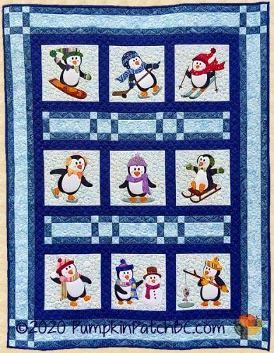 PPP-054 Penguin Promenade Quilt