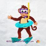 059-05 Monkey Business Block #5
