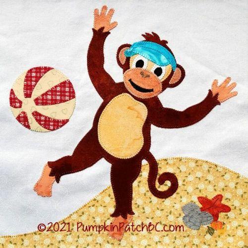 059-06 Monkey Business Block #6
