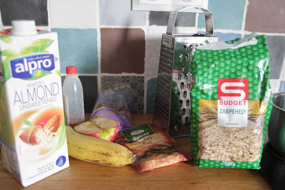 Porridge Zutaten