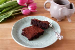 Rote Bete Brownies