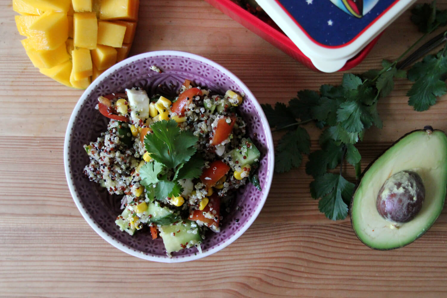 Quinoa-Power-Salat