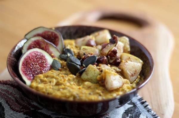Kürbis-Porridge