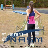 My Experience with the NASM Personal Trainer Certification Program