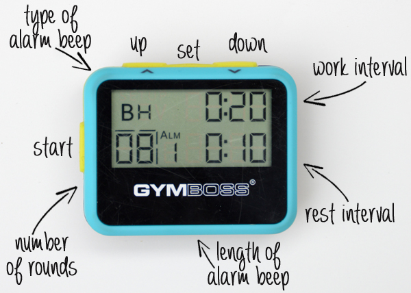 Kettlebell Circuit Workout Gymboss Blog Gymboss Interval Timers