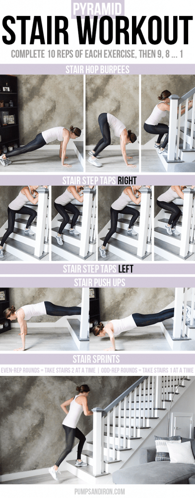 Stair Pyramid Workout  Pumps  Iron