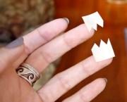 diy chevron nails tutorial pumps