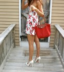 Sundress and Mary Jane Pumps