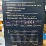RVE230VF tech data