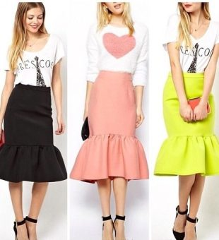 Latest Obsession // Peplum Hem Skirts
