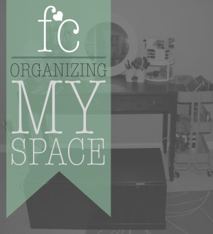 Organizing My Space