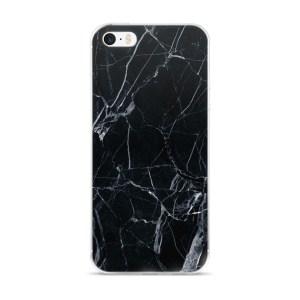 Black Marble iPhone 5/5s/Se, 6/6s, 6/6s Plus Case