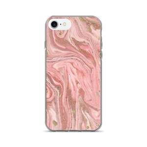 Pink Marble iPhone 7/7 Plus Case