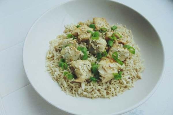 kip rijst honing recept