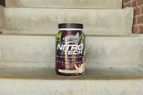 whey nitro tech review ervaring