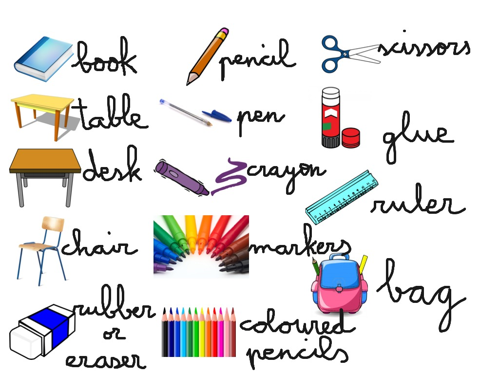 First Teens Classroom Objects