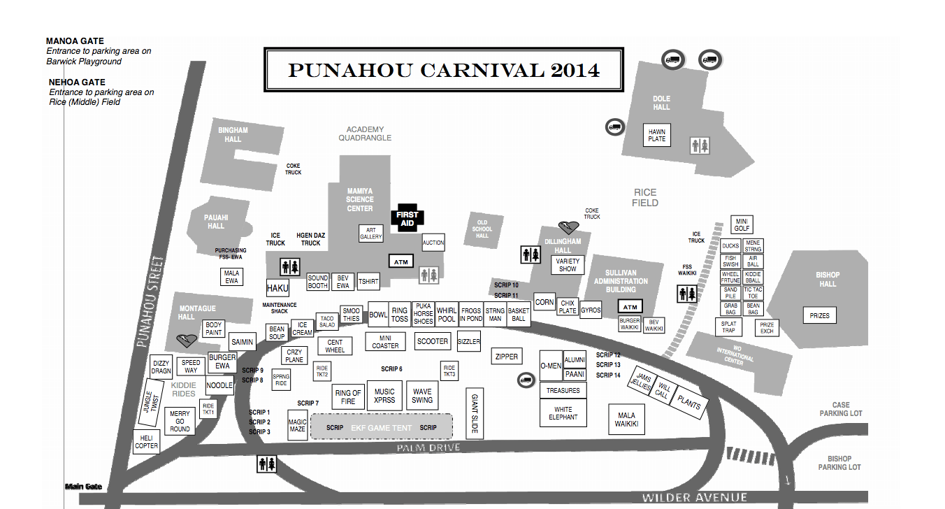 Everything You Need to Know about Punahou Carnival 2014